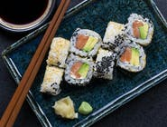 Uramaki mayo sake 8 szt.