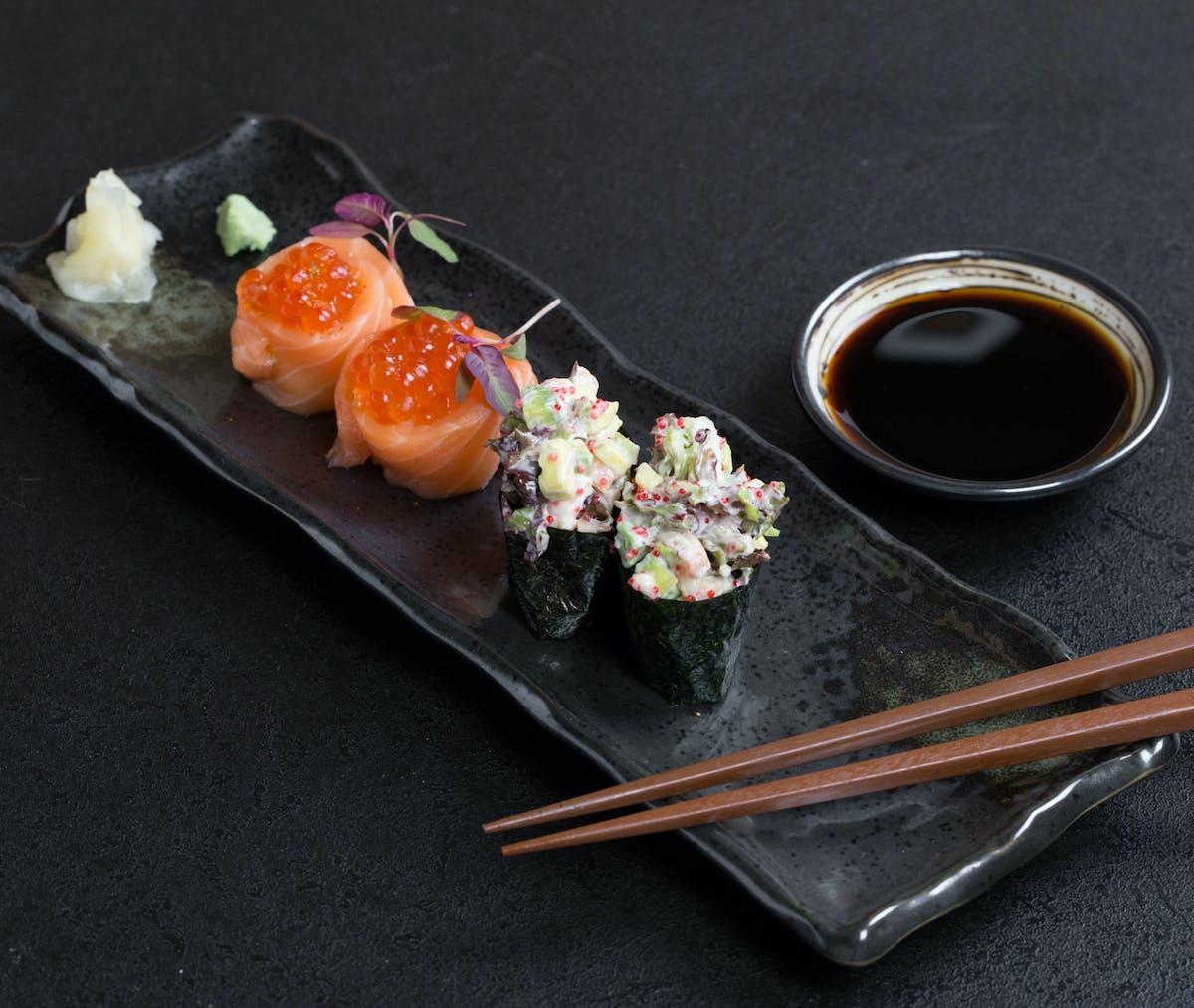 Gunkan maki & oyako maki