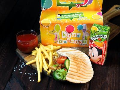 Kid's pudełko - kebab mini