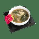 Misoshiru tofu to wakame