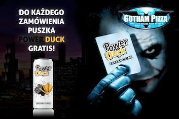 Do każdego zamówienia puszka Power Duck GRATIS !!!!