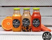 Świeżo wyciskany sok marchwiowo- pomarańczowy 330ml