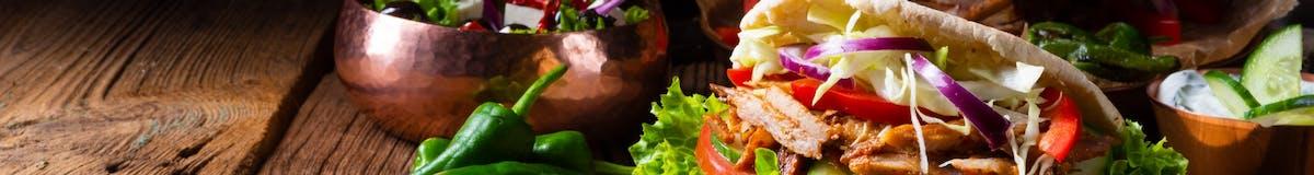 Kebab w cieście - cielęcina -baranina