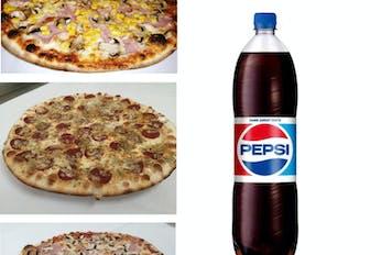 1,5 l  Pepsi, Kofola alebo Mirinda