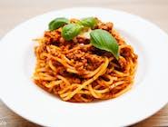 Spaghetti bolońskie