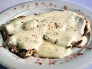 Piept de pui cu sos gorgonzola