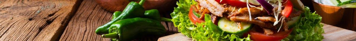 Kebab lawasz (na cienkim cieście)