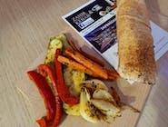 Rollo Kebab z grillowanymi warzywami (średni)