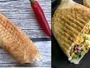 Rollo kebab wegetariański (mały)