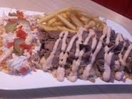 Mega talerz kebab