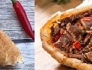 Rollo kebab samo mięso (małe)
