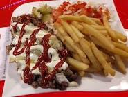 Super talerz kebab