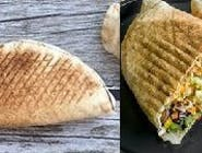 Rollo kebab wegetariański (średni)