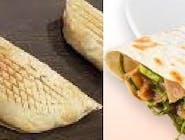 Rollo kebab wegetariańskie ze szpinakiem (średnie)