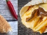 Rollo kebab amerykański z serem (mały)