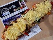 Zapiekanka kebab z grillowanymi warzywami