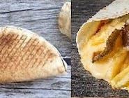 Rollo Kebab amerykański z serem (średni)