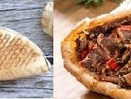 Rollo Kebab samo mięso (średni)