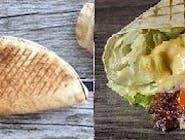Rollo kebab z serem (średni)