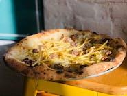 Pizza Bianca - 12. SALSICCIA