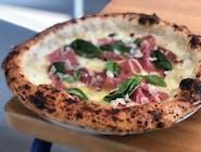 Pizza Bianca - 14. FORMAGGI CON PROSCIUTTO