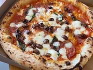 Pizza Rossa - 7. SALAME