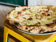 Pizza Bianca - 14. PORRO PICANTE