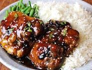 Udko z kurczaka w słodkim sosie teriyaki