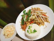 Kurczak z tajską bazylią