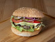 Dziki cheeseburger