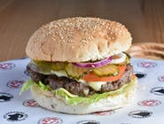 Wołu Burger z serem
