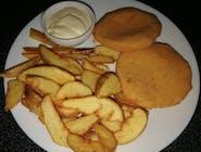 Zagi vyprážaný syr Encián + americké zemiaky + tatárska omáčka (1,3,7)