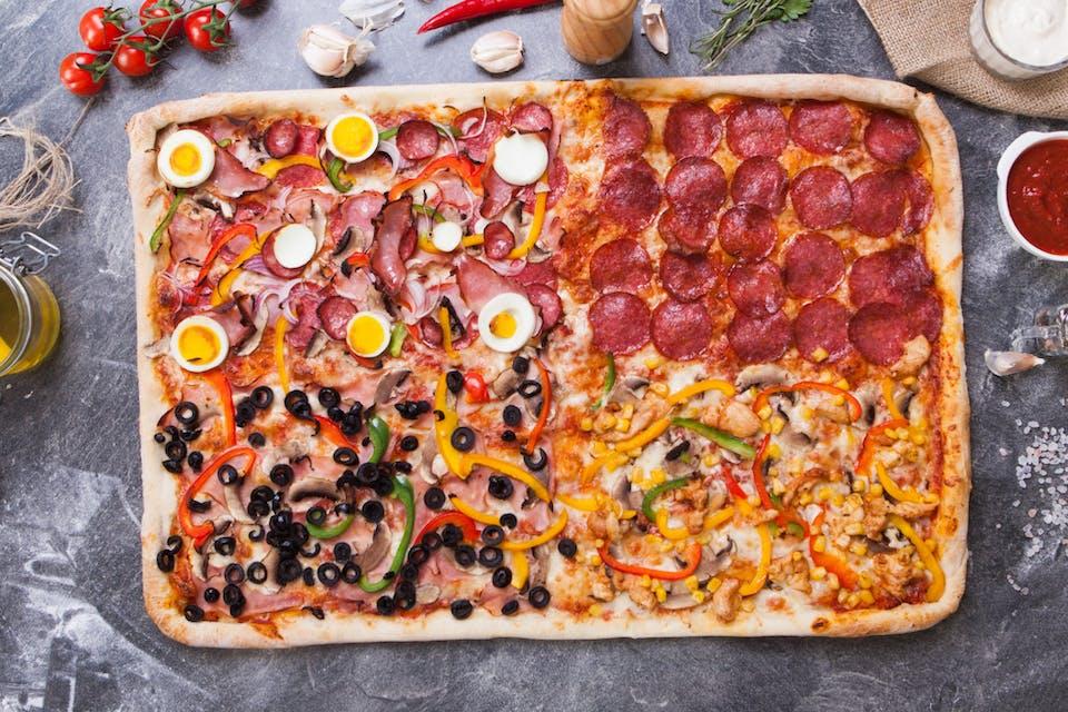Pizza 1+1 Gratis