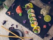 Futomaki - Łosoś w tempurze