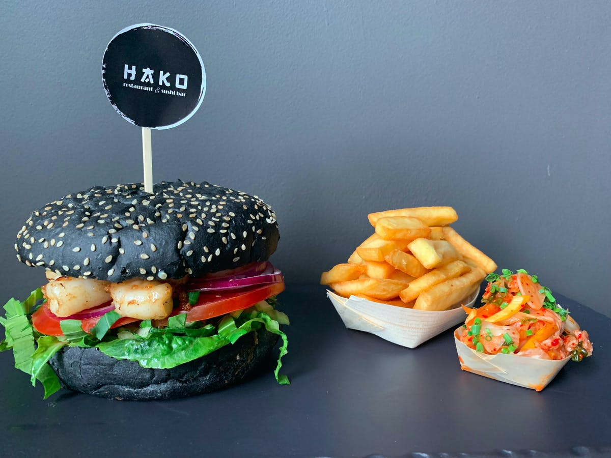 Japanese Black Burger