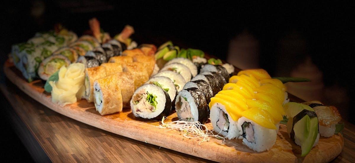Sushi - ZESTAWY GRILLOWANE - NOWOŚCI
