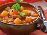 Węgierska zupa z dzika