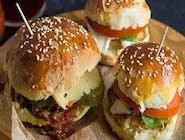 Cheeseburger bułki i kotlet własna produkcja