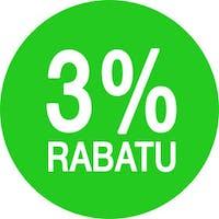 Rabat 3% do 31.12 włącznie na każde zamówienie złożone na www.sferaburgera.pl