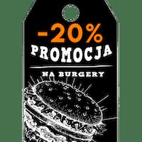 W środy zniżka -20% na Burgery