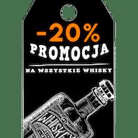 We czwartki zniżka -20% na Whisky