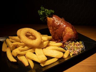 BBQ Turkey Shank
