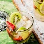 Lemoniada Kiwi z truskawką
