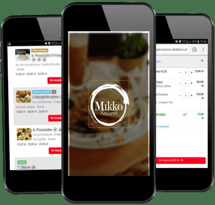 Pobierz naszą aplikację<br>Zamów online i odbierz po drodze<br>
