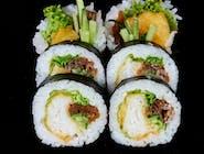 Hirame tempura fitomaki
