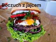 Burger Boczuch z jajcem