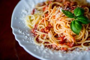 Spaghettii bolognese