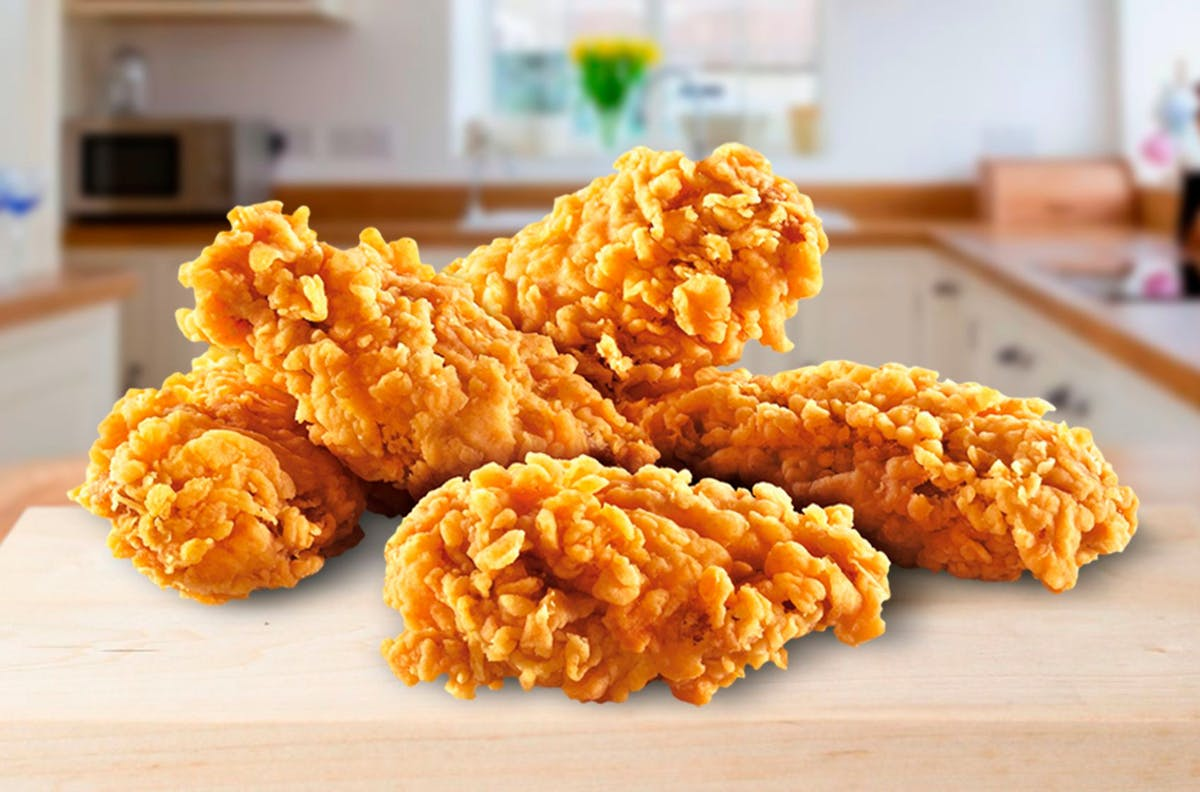 Kurczak w amerykańskiej panierce