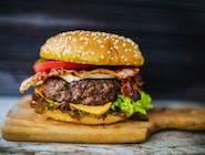 Burger Wołowy BACON