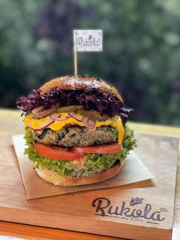 Burger KOMOSA SALMON